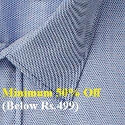 Men's Shirts – Minimum 50% Off below Rs.499 @ Amazon