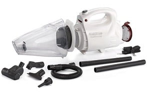 Black and Decker VH802 800-Watt Vacuum Cleaner and Blower with 8 Attachment
