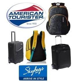 Safari / American Tourister Backpacks & Luggage – Upto 40% Off+ Extra 30% Off @ Amazon