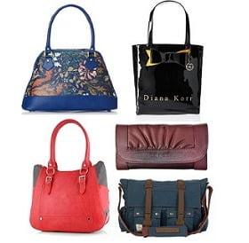 Women Bags & Clutches - Min 50% Off