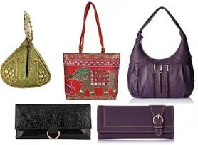 Handbags & Clutches @ Amazon: Minimum 70% Off starts from Rs.111