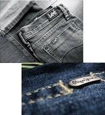 Minimum 50% Off on Lee and Pepe Jeans Clothing @ Flipkart