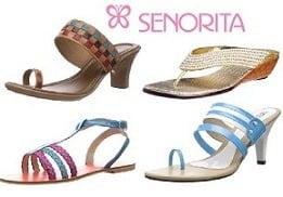 Flat 65% Off on Liberty Senorita Women Sandals
