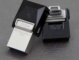 Kingston DT 64GB microDuo USB 3.0 OTG Pen Drive