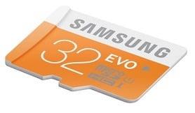 Samsung Evo 32 GB MicroSDHC Class 10 Memory Card