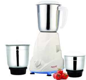 SignoraCare Eco Plus 500 Watt 3-Jar Mixer Grinder