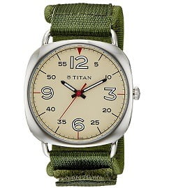 Titan Youth Analog Beige Dial Men's Watch – 9471SP01J worth Rs.2995 for Rs.1096 Only at Amazon