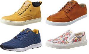 International Brand Casual Shoes (British Knights, Hub, Oneill, UCB, VANS) - Flat 60% - 70% Off