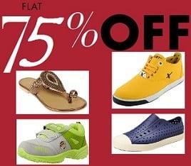 Reebok, Puma, Woodland, Nike, Lotto & More Footwear – Flat 75% Off at Amazon