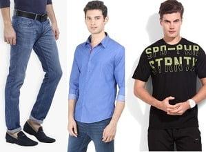 Minimum 60% Discount on Adidas, Fila, Lee, Highlander, Lotto, UCB Men's Clothing @ Flipkart (Limited Period Deal)