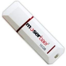 Moserbaer USB Drives 16GB Knight 16 GB Pen Drive for Rs.215 @ Shopclues