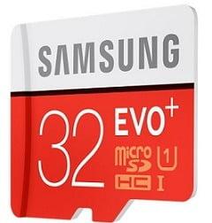 Samsung Evo Plus 32 GB MicroSDHC Class 10 95 MB/s Memory Card for Rs.399 @ Amazon