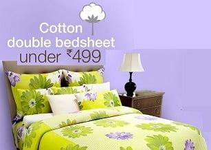 cotton bedsheet amazon