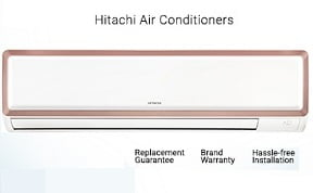 Hitachi Split Air Conditioner (1.5 Ton) – Upto 35% off + Extra 10% Off on HDFC Credit Cards @ Flipkart