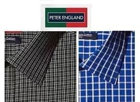 Peter England Men's Shirts - Flat 50% - 70% Off