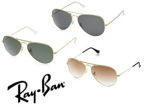 Rayban Sunglasses – Flat 50% Discount @ Amazon (Limited Period Deal)