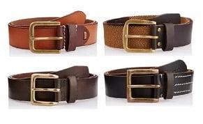 WAC Wrangler Men's Leather Belts – Minimum 50% Discount @ Amazon