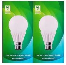 Syska Led Lights 10 W LED Bulb (Pack of 2) for Rs.400 @ Flipkart (Free Delivery)