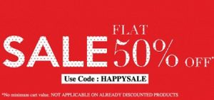 Flat 50% Discount on Bata Footwear@ Bata.in