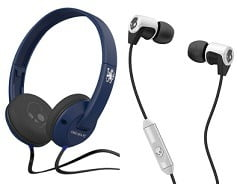 Skullcandy Earphones & Headphones – Flat 40% to 60% Off @ Myntra
