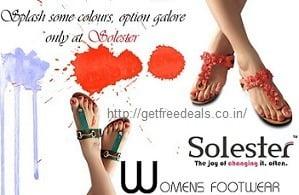 Solester Women's Footwear – Flat 50% – 70% Off @ Amazon
