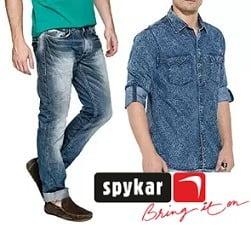 Spykar Men's Clothing – Min 60% Off @ Amazon