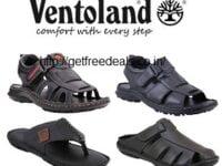Ventoland Men's Genuine Leather Sandals & Floaters – Min 50% upto 64% Off @ Flipkart