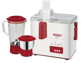 Maharaja Whiteline Gala 450W Juicer Mixer Grinder for Rs.1415 @ Pepperfry