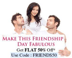 Friendship Day Special – Flat 50% Discount on Bata Footwear@ Bata.in