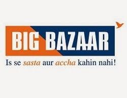 Big Bazaar Gift Voucher worth Rs.2000 for Rs.1900 @ Amazon