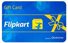 Get 10% Off on Flipkart E-Gift Voucher (For HDFC Credit Card) valid till 12th Aug'16