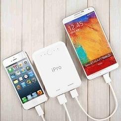 iPro IP1042 Powerbank 10400 mAh for Rs.449 @ Flipkart