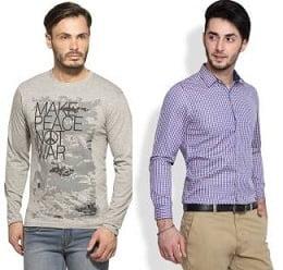 Men's Clothing – Below Rs.599@ Flipkart