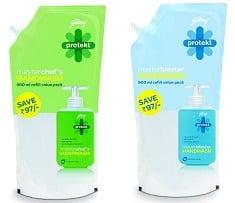 Godrej Protekt Handwash – 750 ml worth Rs.115 for Rs.69 @ Amazon