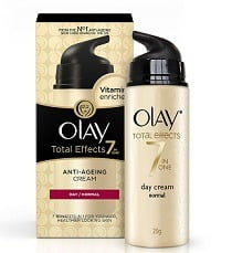 Olay Total Effects 7 In 1 Anti Aging Skin Cream Moisturizer, Normal, 20g worth Rs.399 for Rs.250 @ Amazon (Free Home Delivery)