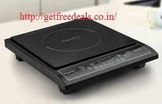 Great Deal: Pigeon Amaze Sterling Induction Cooktop 1800 Watt for Rs.1185 (Limited Period Deal)