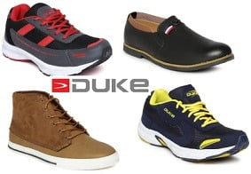 Duke Men's Sports & Casual Shoes – Flat 60% – 70% Off starts Rs.579 @ Myntra