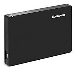 Lenovo F308 1 TB External Hard Disk Black With Surge protection technology for Rs.3625 @ Amazon