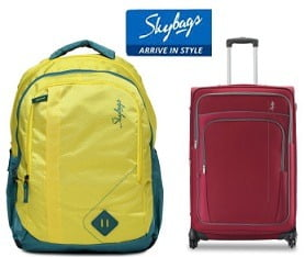 Skybags Luggage & Backpack – Flat 50% Off @ Myntra