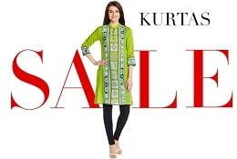 Women's Kurta / Kurti – Upto 70% Off – All Below Rs.599 starts from Rs.149@ Amazon