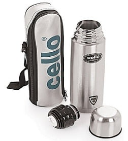 Cello Lifestyle Stainless Steel Flask 1000ml for Rs.699 @ Amazon