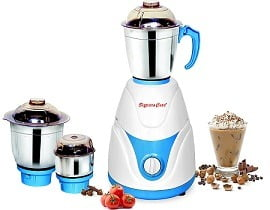 Signora Care Eco Plus 500-Watt Mixer Grinder with 3 Jars for Rs.957 @ Amazon (3 Yrs Warranty) Limited Period Deal