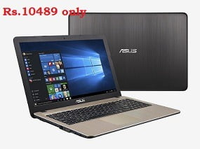 Loot Offer: Asus X540SA-XX004D 15.6″ Notebook(500GB HDD) for Rs.10489 @ Tatacliq