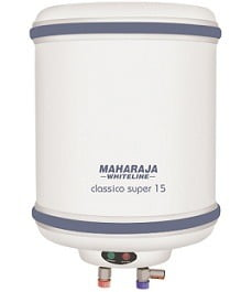 Maharaja Whiteline 15 Litres Classico Super Water Heater White & Blue for Rs.4299 @ Snapdeal (With Axis Bank Card Rs.3869)