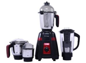 Wonderchef Platinum Mixer Grinder 750W with 4 Stainless Steel Jars 5 Years Warranty worth Rs.6000 for Rs.2999 @ Amazon