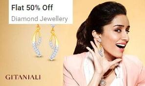 Diamond Jewellery – Minimum 50% Off starts Rs.1596 @ Flipkart