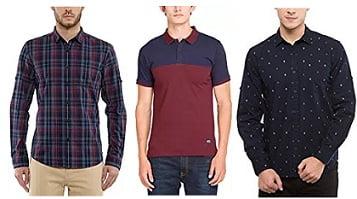 Highlander Men's Clothing – Flat 60% Offstarts Rs.219 @ Amazon