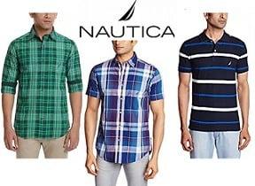 Nautica Men's Clothing – Minimum 50% Off @ Amazon