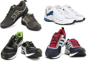 Sports Shoes (Adidas, Puma, Reebok, Fila, Lee Cooper, Nike): 50% – 80% off + Extra 5% off on Prepaid Order@ Flipkart