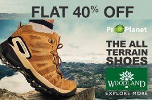 Woodland Shoes – Minimum 40% Off starts Rs.1427 @ Amazon